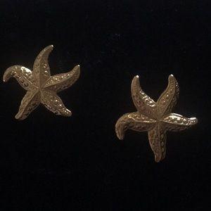 Iconic Avon Starfish Earrings Large